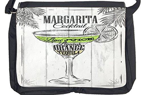 Borsa Tracolla Manifesto Cocktail di Margarita Stampato Cuisine