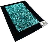 Aqua Dark Handmade Carpet