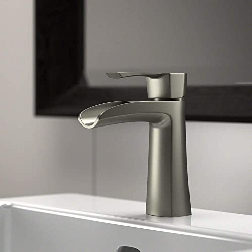 MR Direct 732-BN Brushed Nickel Vessel Faucet