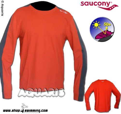 Saucony Langarm Laufshirt Herren/ longsleeve running shirt L/S Primolight OG Men
