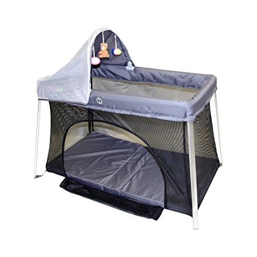 Travel Crib For Baby. Easy Front And Top Access. Protect Your Baby With Sun Shade And Bug Screen. Your All-In-One Home Playard and Portable Crib. Easy Tool-Free Set Up and Take Down. Mom's Choice.