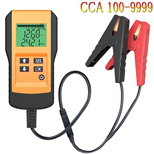 LEICESTERCN Battery Tester for Automotive Digital 12V Car Battery Load Test and Analyzer with Digital Readout (Digital Battery Tester)