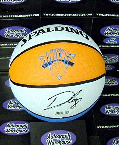Danilo Gallinari autographed Basketball New York Knicks logo ball AW hologram certificate authenticity ()