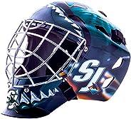 Franklin Sports GFM 1500 NHL San Jose Sharks Goalie Face Mask