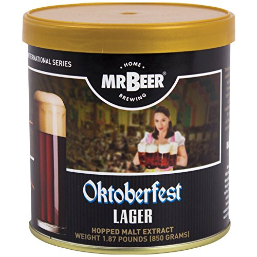 (Mr. Beer 60964 Oktoberfest Lager Beer Refill, Brown)
