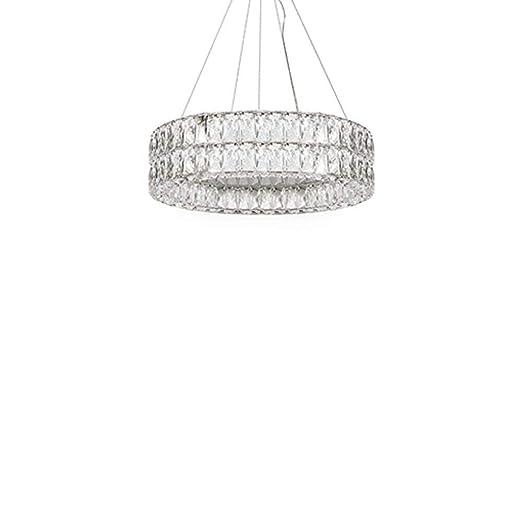 Amazon.com: Solaris - Lámpara de araña de doble anillo con ...