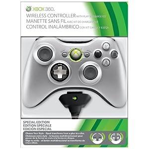 519tovTdPmL. SL500 AA300  [Amazon] Xbox 360 Wireless Controller mit Play & Charge Kit (Limited Edition) für nur 39€ inkl. Versand (Vergleich: 58€)