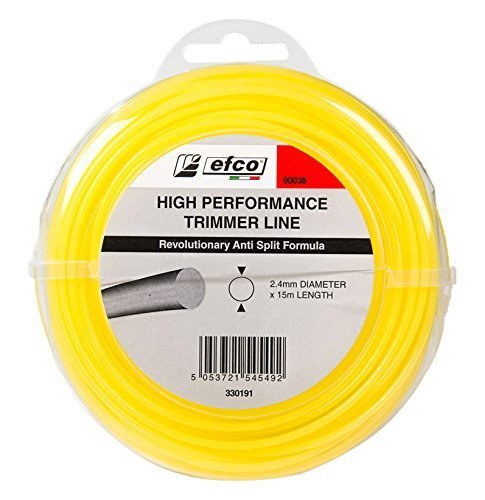 Efco 00038 Replacement Nylon Trimmer Line 15m x 2.4mm Emak UK Ltd.