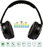 Best AUGUST Audio Cards - KOCASO [Bluetooth/Wireless] Foldable Hi-Fi [Stereo] Over Ear Headphones Review