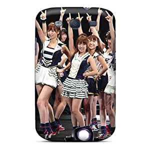 Durable Defender Case For Galaxy S3 Tpu Cover(akb48 Anime)