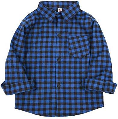 Snakell - Camisa de Manga Larga para bebé, Color Rojo y ...