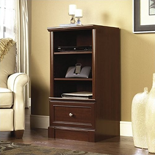 Sauder Palladia Technology Pier, Select Cherry finish (Tv Cabinets With Drawers)