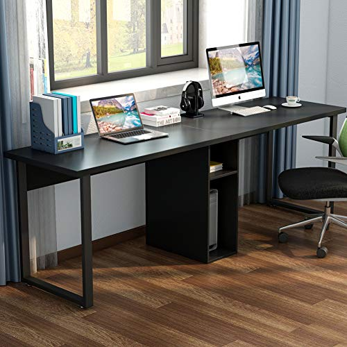 best computer desks for two people computerdeskz. Black Bedroom Furniture Sets. Home Design Ideas