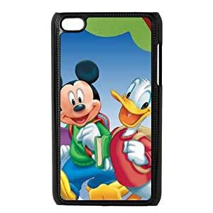 iPod Touch 4 Case Black Mickey's Magical Christmas Snowed in at the House of Mouse 012 KYS1075493KSL