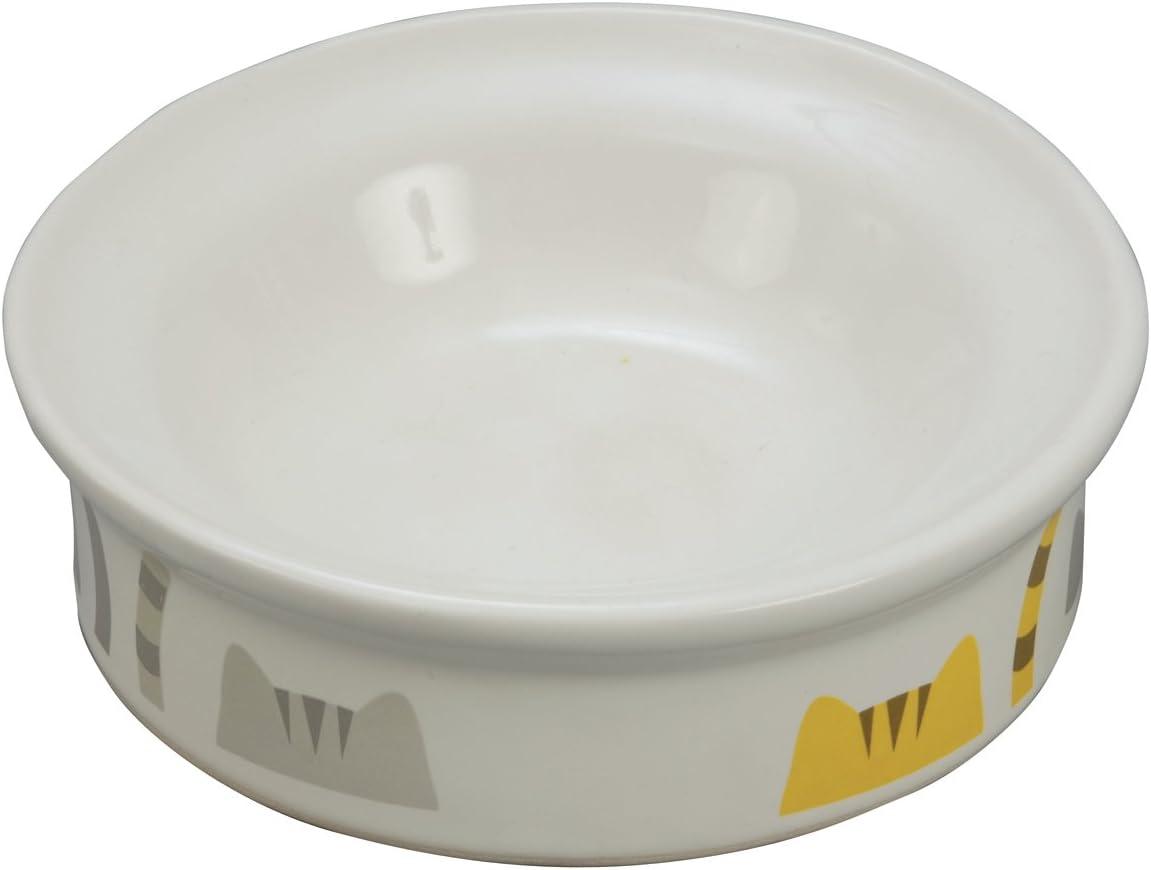 猫専用陶器食器 ドライフード向き 猫としっぽ 【おまとめ32個】