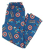 Marvel Comics Captain America Civil War Knit Graphic Sleep Lounge Pants - Large