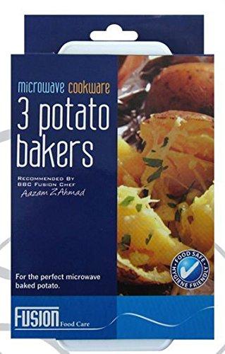 3 patata microondas Baked patatas Baker apto para alimentación ...