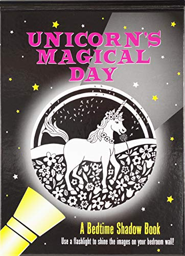 Unicorn's Magical Day Bedtime Shadow Book