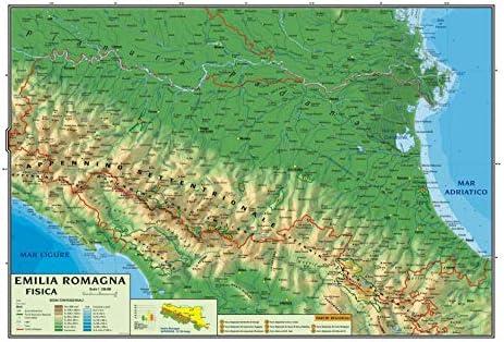 Cartina Fisico Politica Emilia Romagna.Carta Geografica Murale Regionale Emilia Romagna 100x140 Bifacciale Fisica E Politica Amazon It Cancelleria E Prodotti Per Ufficio