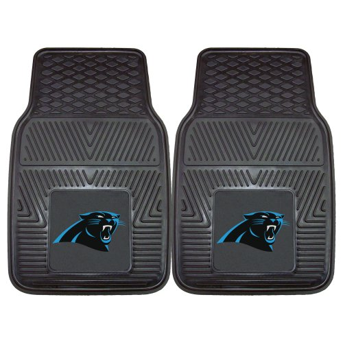 FANMATS NFL Carolina Panthers Vinyl Heavy Duty Car Mat