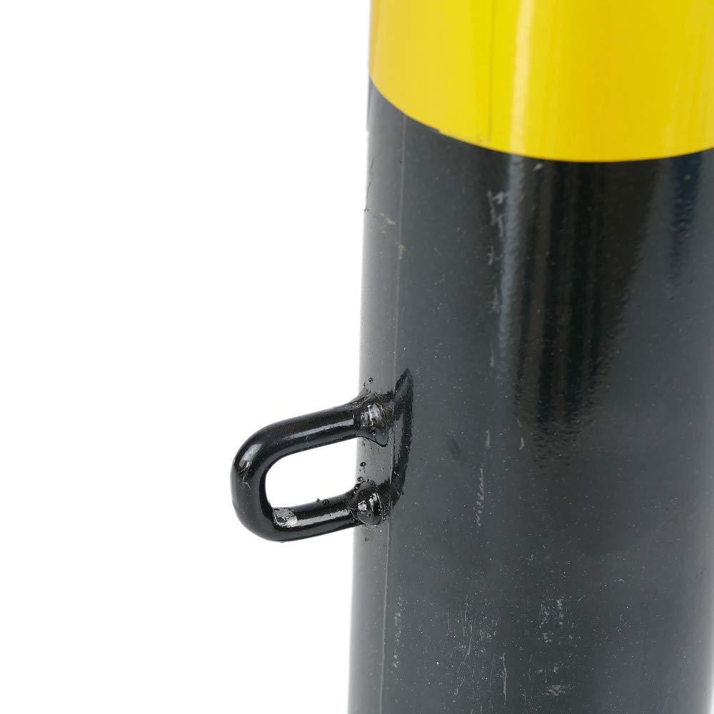 Cablematic/ /Bolardo de Acero clou/é con Base subterr/áneo 76/x 600/mm