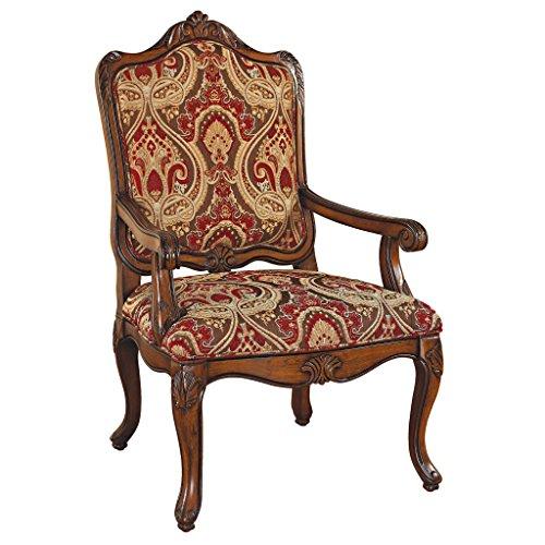 Design Toscano Louis XV Bergere Chair (French Louis Xv Arm Chair)