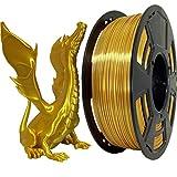 Stronghero3D Silk Gold 3D Printer PLA Filament1.75 mm 1 KG (2.2 LBS) Spool Accuracy+/-0.05mm