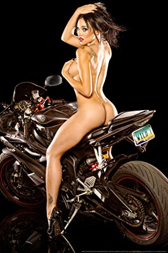 Hot Babe Poster - Wild One by Daveed Benito Mural Giant Poster 36x54 inch
