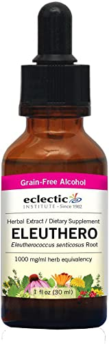 Eclectic Institute – Eleuthero Extract, 1 oz liquid