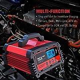 BMK Car Battery Charger, 12V/24V 5/10/20A Fully