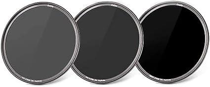 Haida Ultra Slim Nanopro Mc Nd Graufilterset 8x 64x 1000x 82 Mm Inkl Stack Cap Filtercontainer