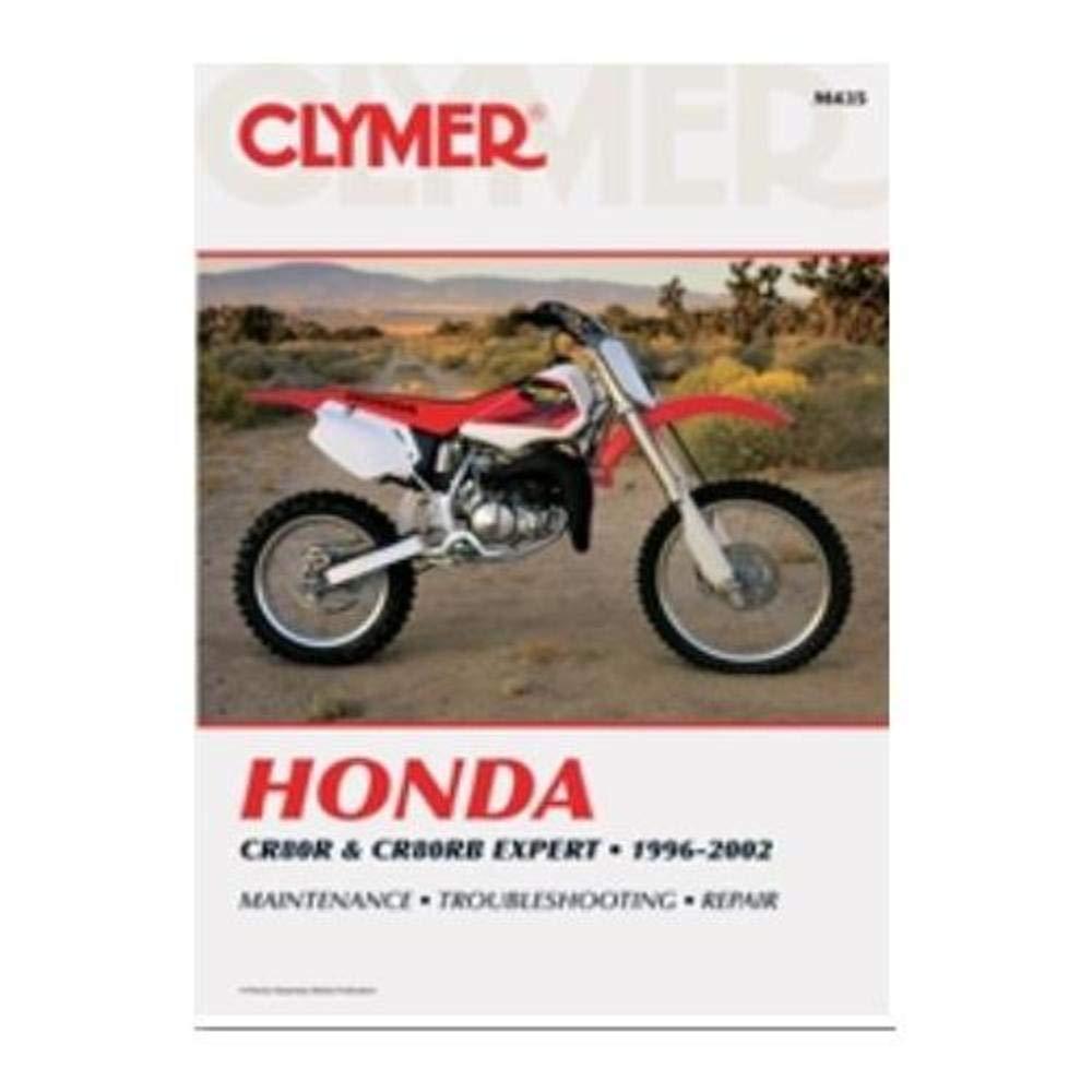 Amazon.com: Clymer Repair Manual for Honda CR80R CR80RB 97-02: Automotive