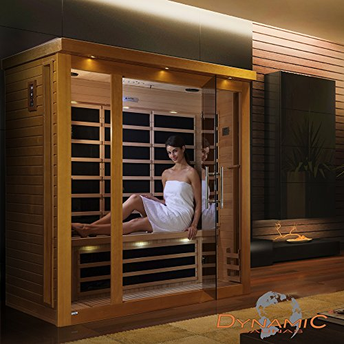 Dynamic Saunas AMZ-DYN-63-15-01 Florence Low Emf Far Infrared Sauna by DYNAMIC SAUNAS