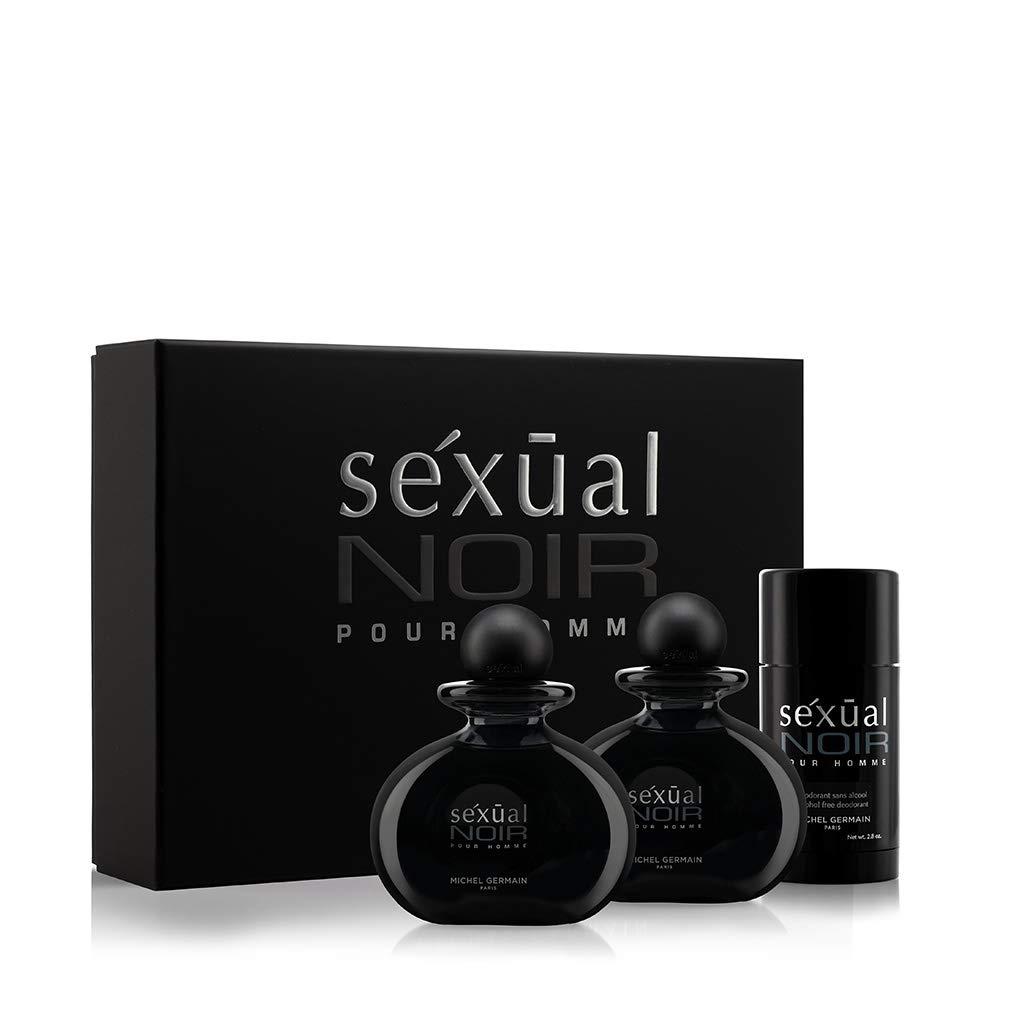 Michel Germain Sexual Noir Pour Homme 3-Piece Gift Set