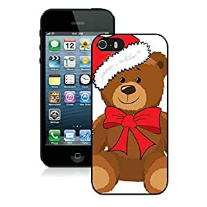 Best Buy Design Iphone 5S Protective Cover Case Christmas Bear iPhone 5 5S TPU Case 3 Black