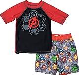 Boys' Avengers Rash Guard Set