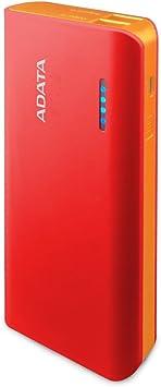 ADATA PT100 batería Externa Rojo Ión de Litio 10000 mAh ...