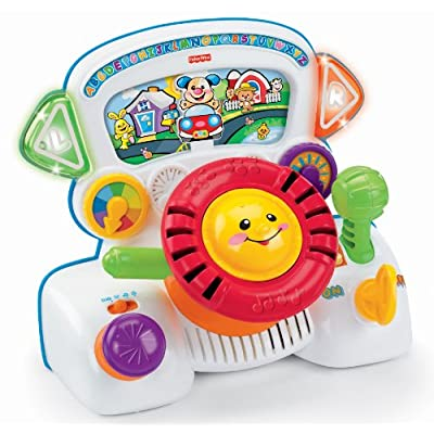 Fisher Price Laugh & Learn Rumble & Learn Driver: Toys & Games