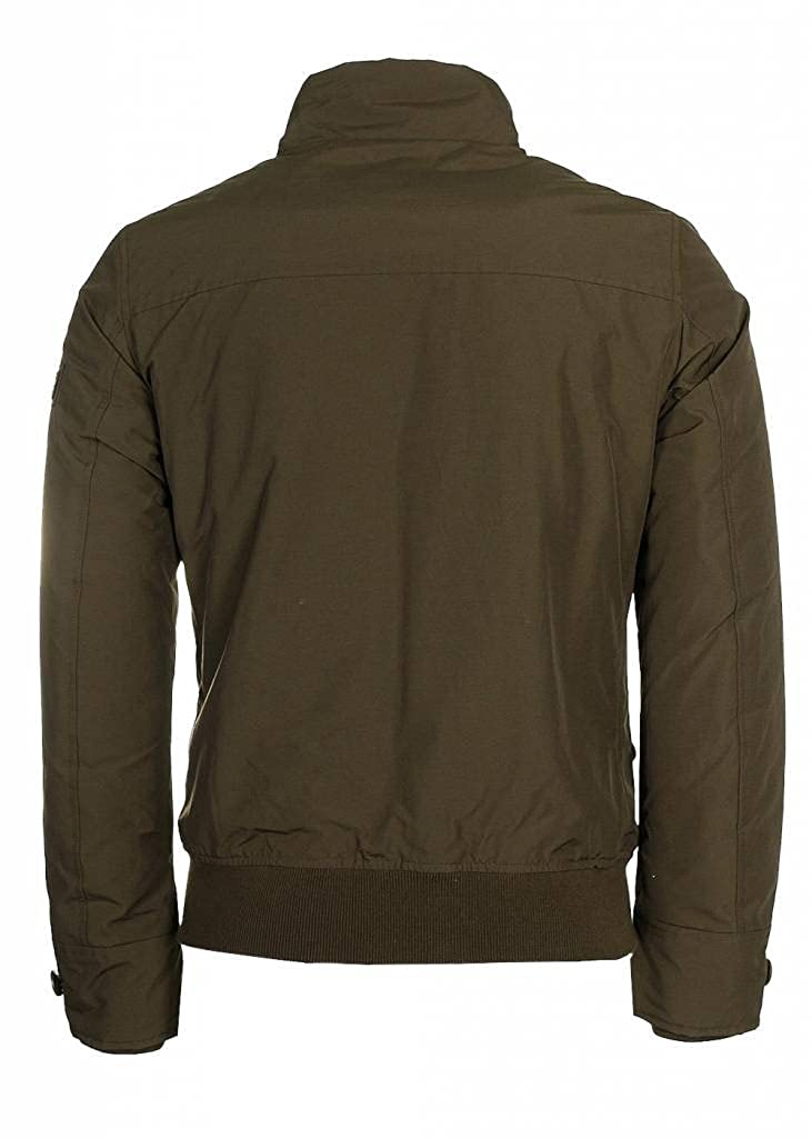 Woolrich - Chaqueta Impermeable - para Hombre Verde Oscuro ...