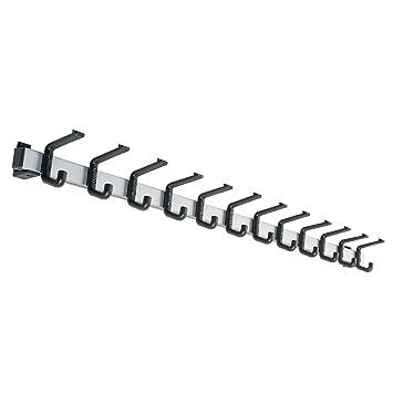 Perchero (Aluminio, Carga máxima 90 kg - 12 Ganchos ...
