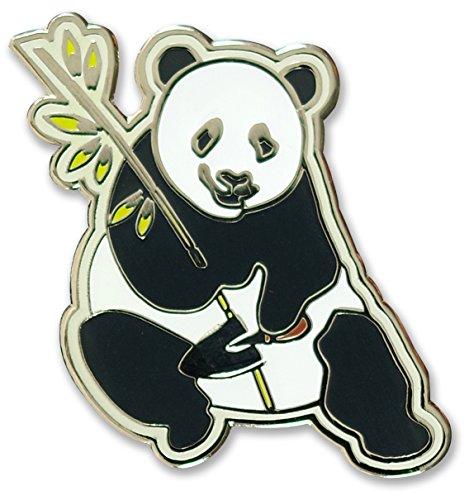 (Panda - Hard Enamel Pin (Cloisonne Pin))