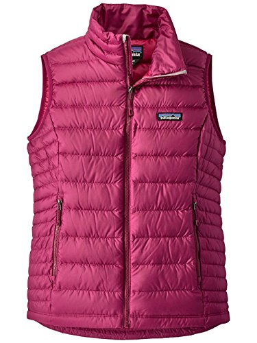 Patagonia W's Down Sweater Vest Magenta (Small, Magenta) (Patagonia Womens Down Vest Apparel)