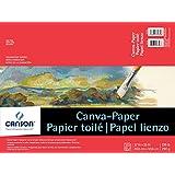 "Foundation Series Canva-Paper Pad, 12""X16"""