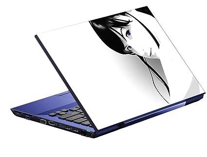 Imagination Era 3d Wallpaper Girl Balck Laptop Skin Stickers Hd