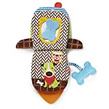 Skip Hop Bandana Buddies Soft Activity Puppet Book, Puppy