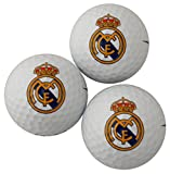Real Madrid 3 Pack Golf Ball Gift Set
