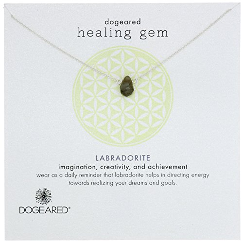 Dogeared Lasting Healing Labradorite Necklace