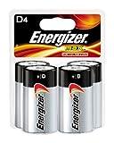 Energizer Max D Batteries, 4-Count