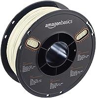 AmazonBasics PLA 3D Printer Filament, 1.75mm, Translucent, 1 kg Spool by AmazonBasics