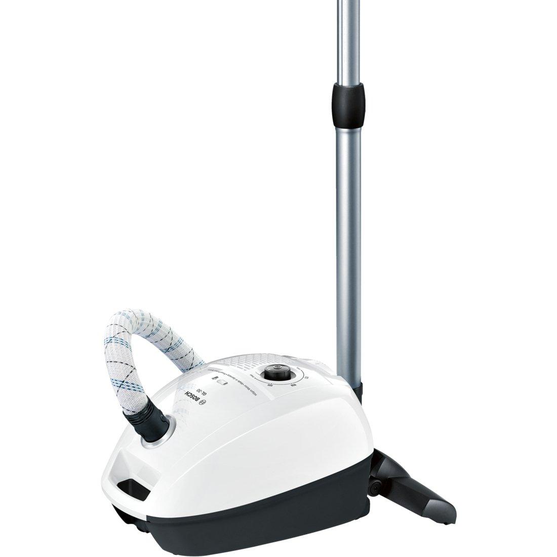 Bosch Bgl3A209 Aspirapolvere a Carrello con Sacco, 600 W, 3 Litri, 79 Decibel, Bianco/Nero product image